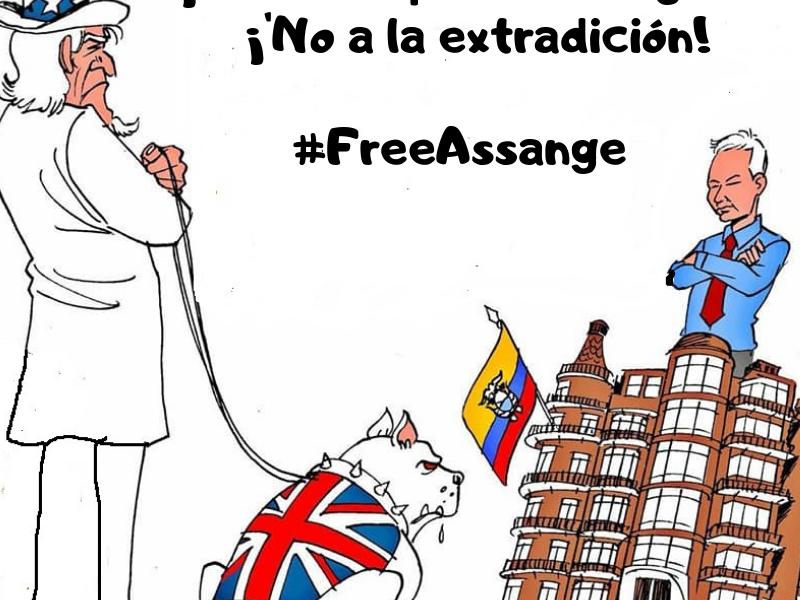 Libertad a Julián Assange, creador de Wikileaks