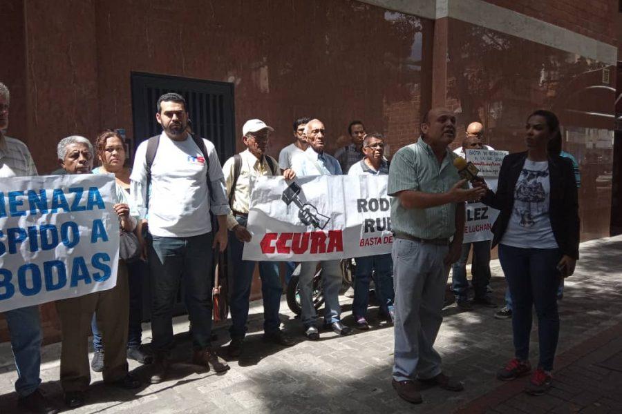 Marea Socialista estuvo presente en piquete de solidaridad con el dirigente petrolero José Bodas