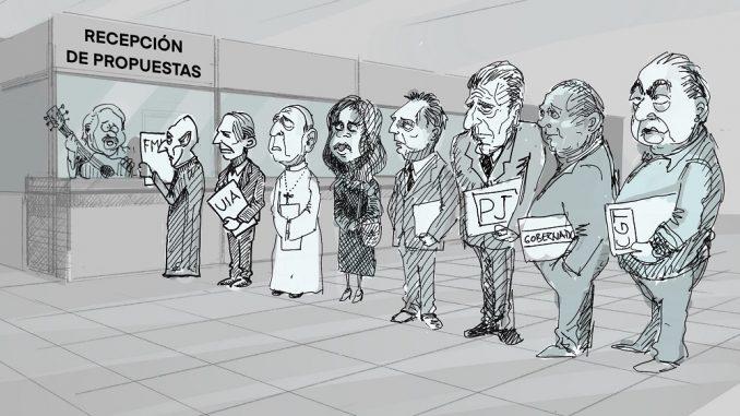 Argentina: últimos preparativos de Alberto. Mucho ruido y pocas nueces