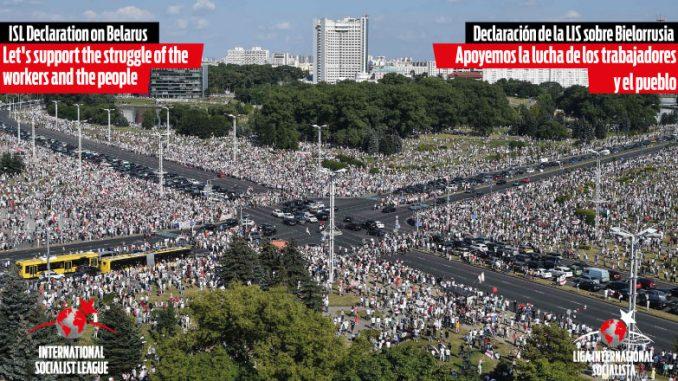 Declaración de la LIS sobre Bielorrusia: Apoyemos la lucha de los trabajadores y el pueblo
