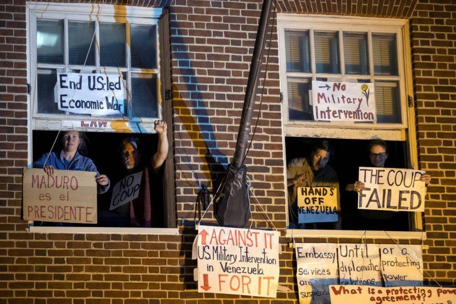 Marea Socialista repudia intervenciôn policial en embajada de Washington