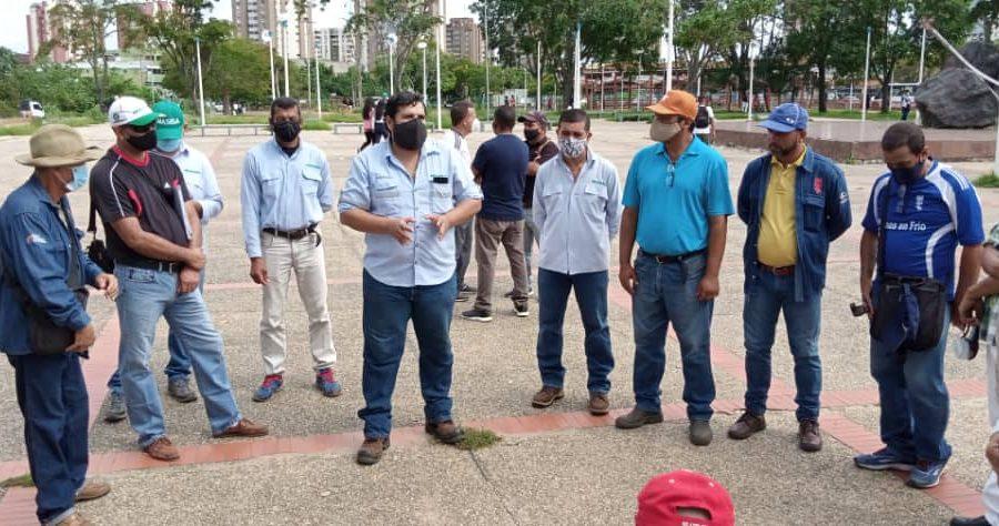 Realizan reunión con miras a recuperar la movilización obrera en Guayana