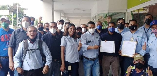 Trabajadores de Masisa en Guayana se movilizaron para introducir demanda ante Tribunales del Trabajo