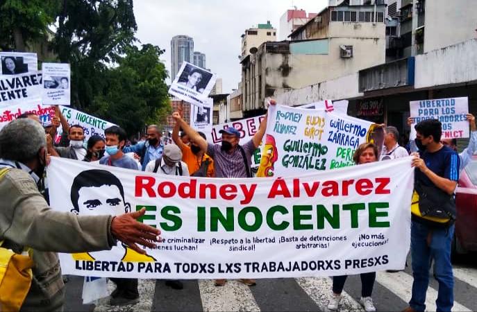 Por la libertad de lxs trabajadorxs presxs y de Rodney Álvarez