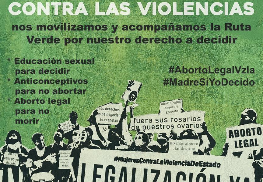 #AbortoLegalVzla #MadreSiYoDecido. Ruta Verde  ¡Aborto legal, seguro y gratuito!
